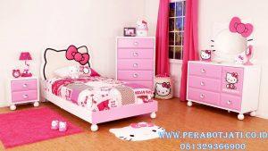 Tempat Tidur Hello Kitty Karakter Anak Terbaru