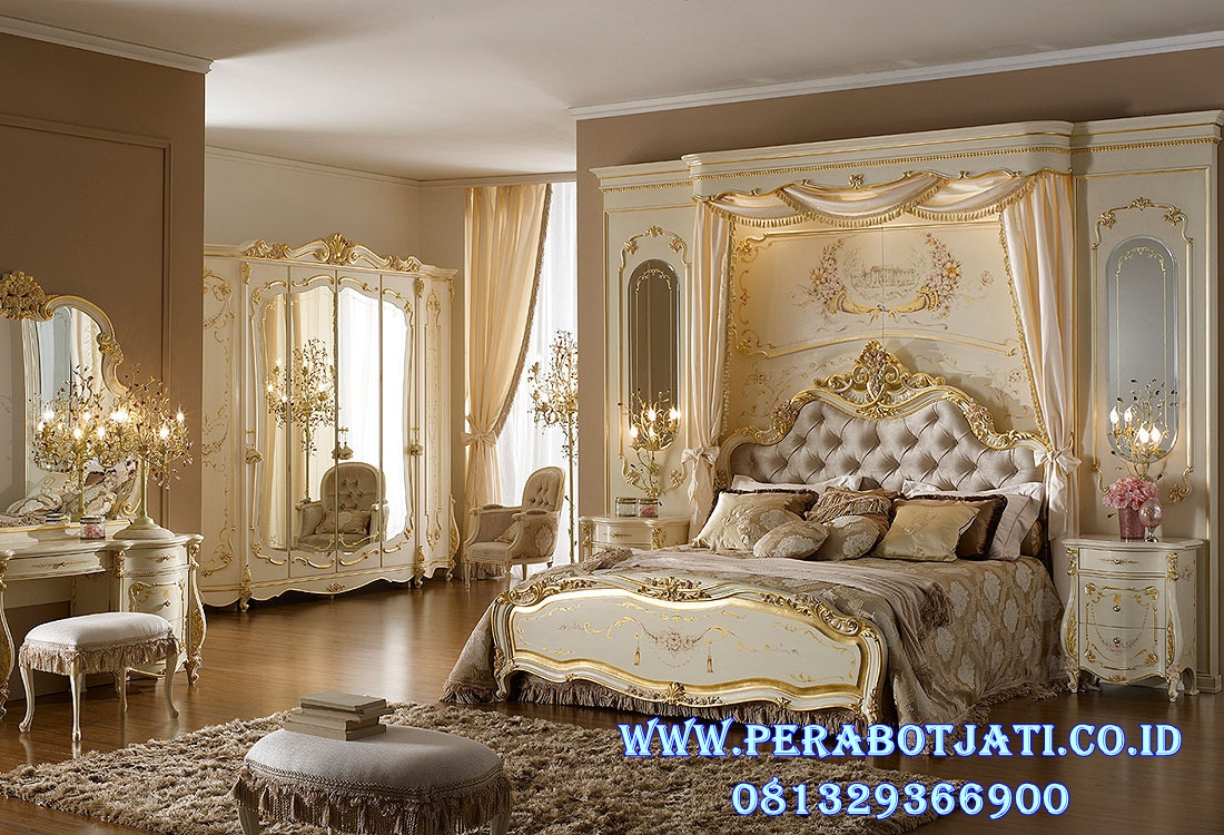 Tempat Tidur Pengantin Mewah Elia