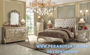 Tempat Tidur Utama Minimalis Klasik Ukir