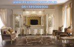 Set Bufet Tv Mewah Klasik Syahrini