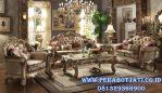 Set Kursi Tamu Victorian Mewah Ukir Klasik