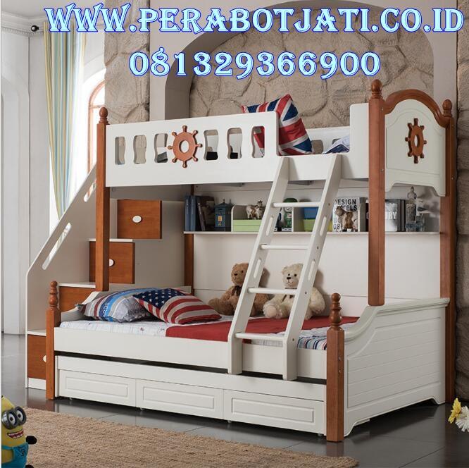 Tempat Tidur Tingkat 2 Susun Anak Laki Laki