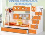 Tempat Tidur Tingkat Micky Mouse Orange