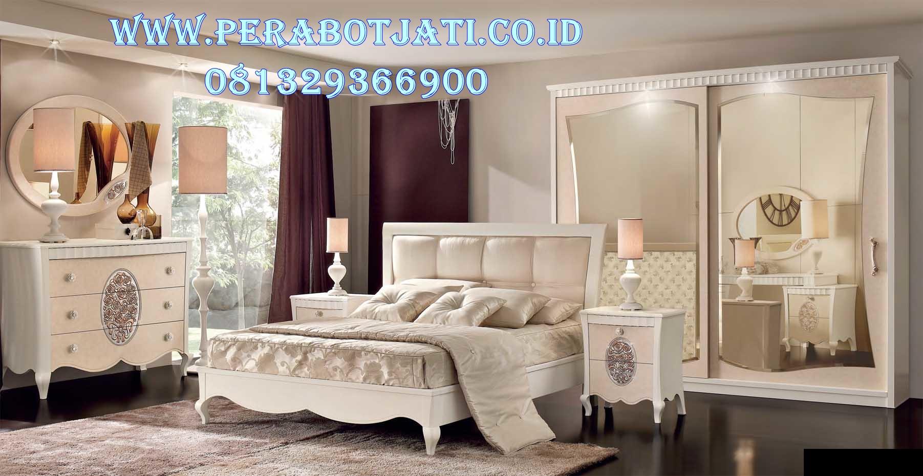 Set Tempat Tidur Pengantin Minimalis Luxury