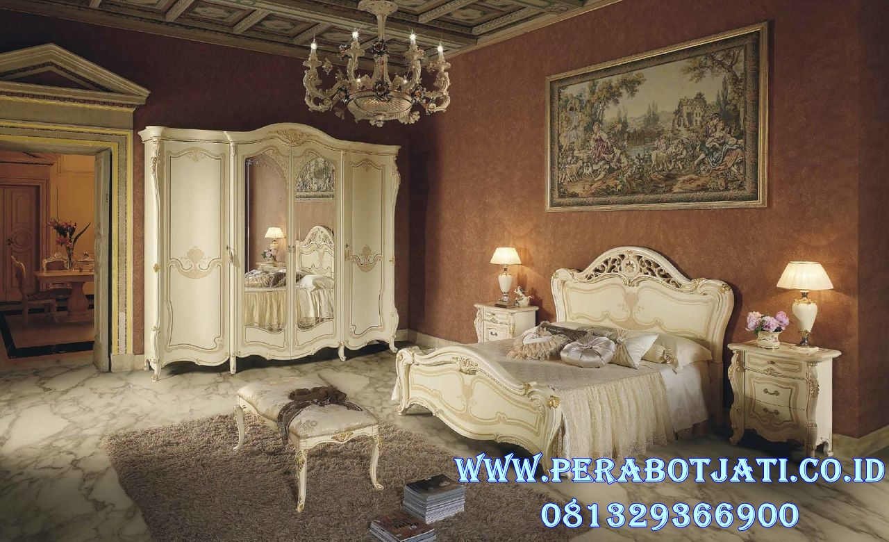 Kamar Set Klasik Minimalis Eropa