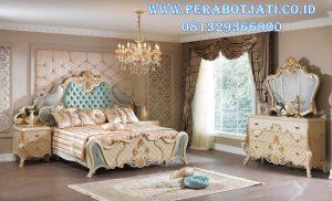 Set Kamar Tidur Klasik Modern Ukir Jepara