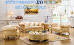 Set Kursi Sofa Modern Ukir Luxury