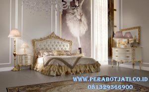 Tempat Tidur Pengantin Ukir Klasik Romance