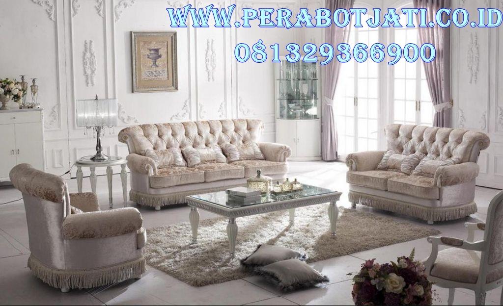 Kursi Sofa Mewah Ruang Tamu Modern