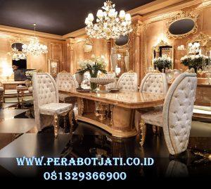 Meja Makan Classic Luxury Louis