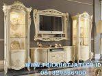 Set Bufet Tv Gold Ukir Klasik Italian