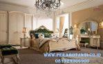 Set Kamar Klasik Desain Ranjang Tidur Elegan French Style