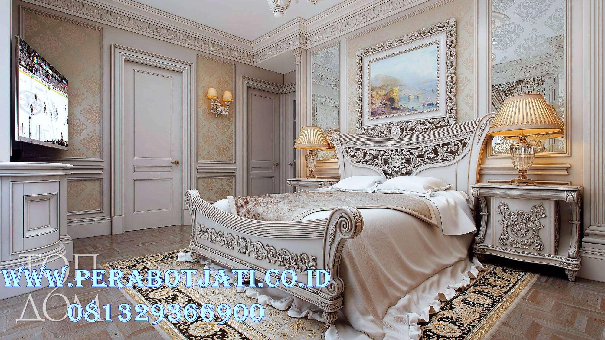 Set Kamar Tidur Klasik Mewah Francisco