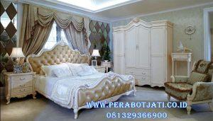 Set Kamar Utama Mewah Warna Putih Mirenna