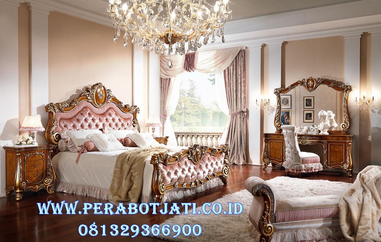 Set Tempat Tidur Luxury Untuk Kamar Utama Ukir Firenze