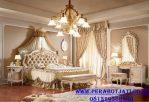 Set Kamar Tidur Eropa Desain Ranjang Ukir Mewah Mediterania