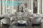 Set Kursi Tamu Eropa Desain Sofa Klasik