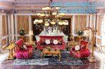 Set Kursi Tamu Victoria Ukiran Classic Luxury