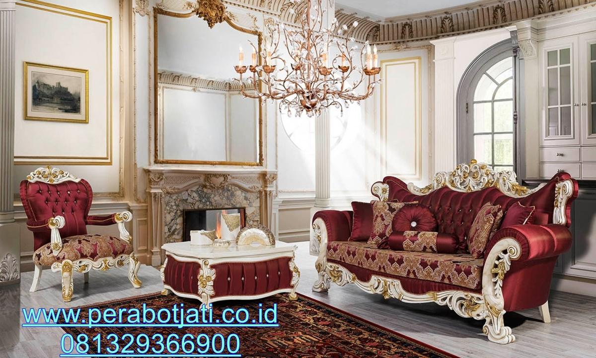 Set Sofa Ukiran Mewah Terbaru Meida