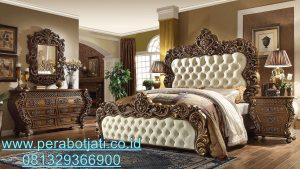 Interior Kamar Tidur Ukir Classic Jepara