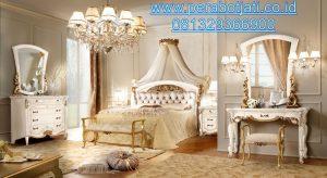 Set Kamar Tidur Putih Duco Model Ranjang Pengantin Dereva