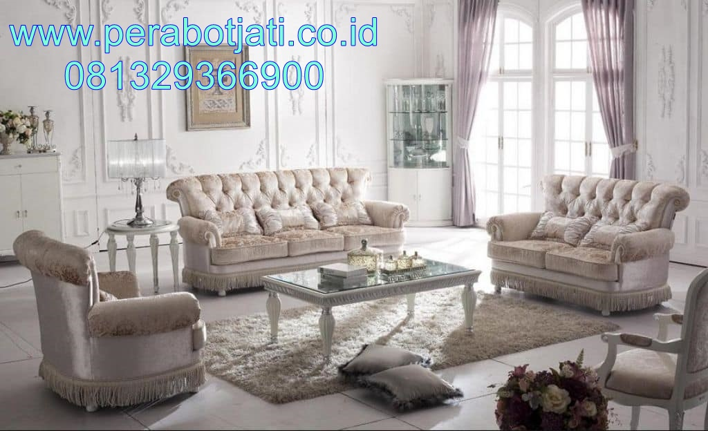 Desain Kursi Sofa Modern Full Jok Terbaru