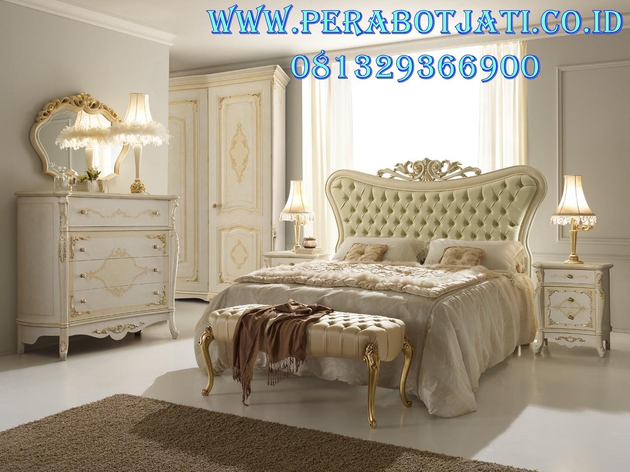 Furniture Tempat Tidur Pengantin Mewah Corpia