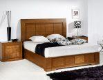 Furniture Tempat Tidur Minimalis Natural Kayu