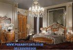 Set Kamar Tidur Eropa Klasik Vineer