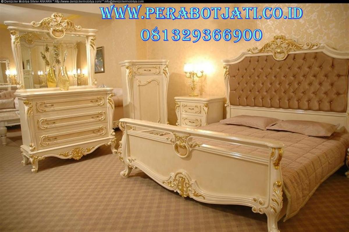 Set Kamar Tidur Luxury Desain Ranjang Pengantin