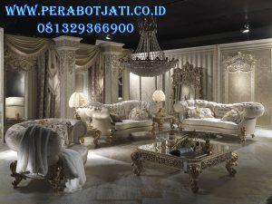 Set Kursi Tamu Sofa Victorian Ukiran
