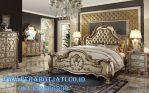 1 Set Tempat Tidur Klasik Eropa Style