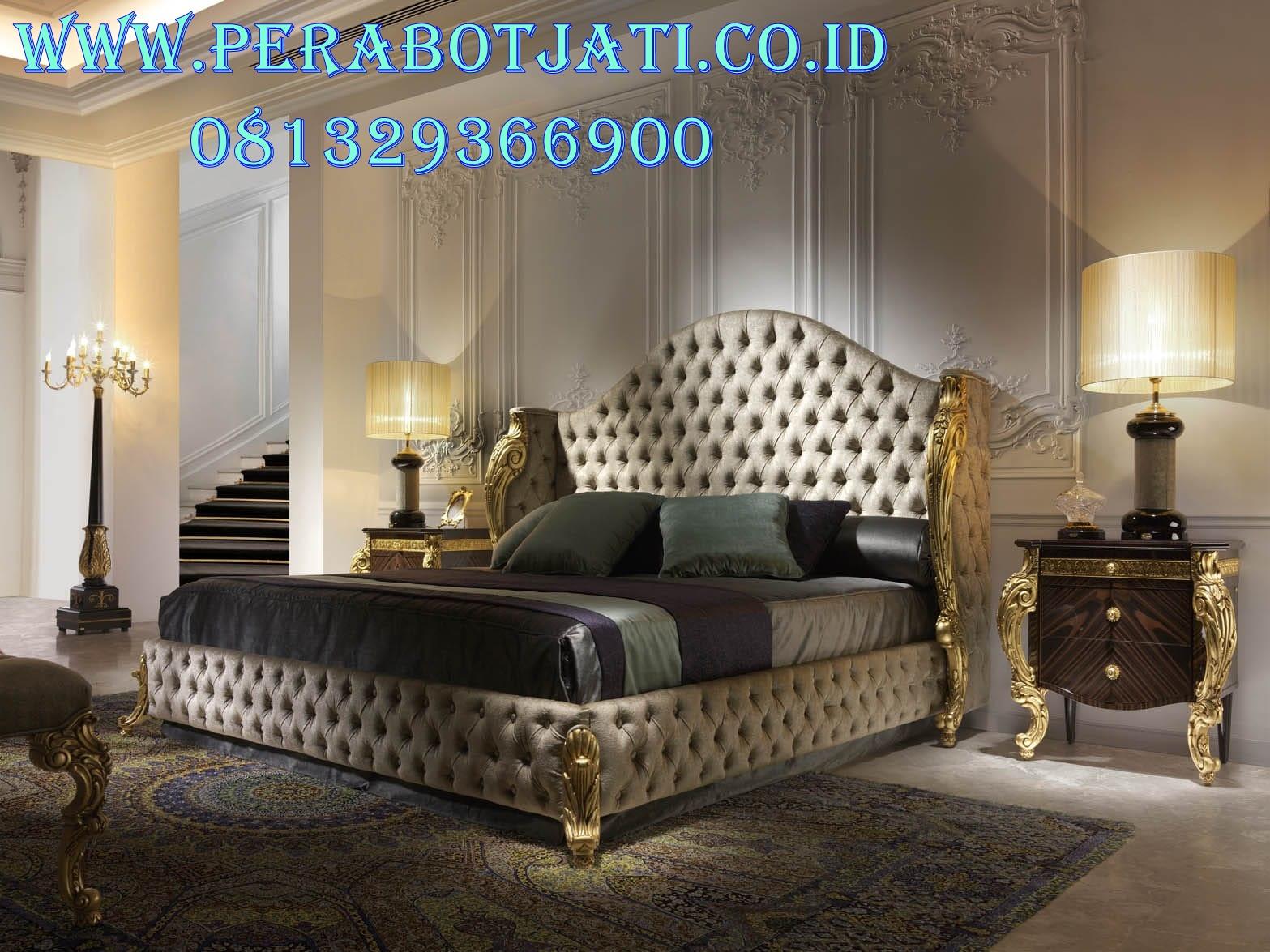 Desain Tempat Tidur Pengantin Untuk Kamar Klasik Romantis