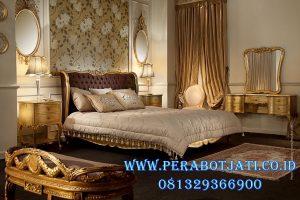 Kamar Tidur Minimalis Gold Classic Mewah