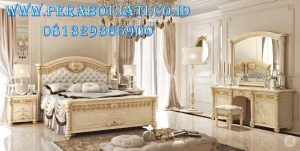 Harga Tempat Tidur Utama Desain Mewah Rococo