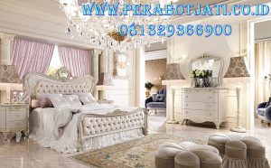 Harga kamar Set Desain Tempat Tidur Mewah Klasik