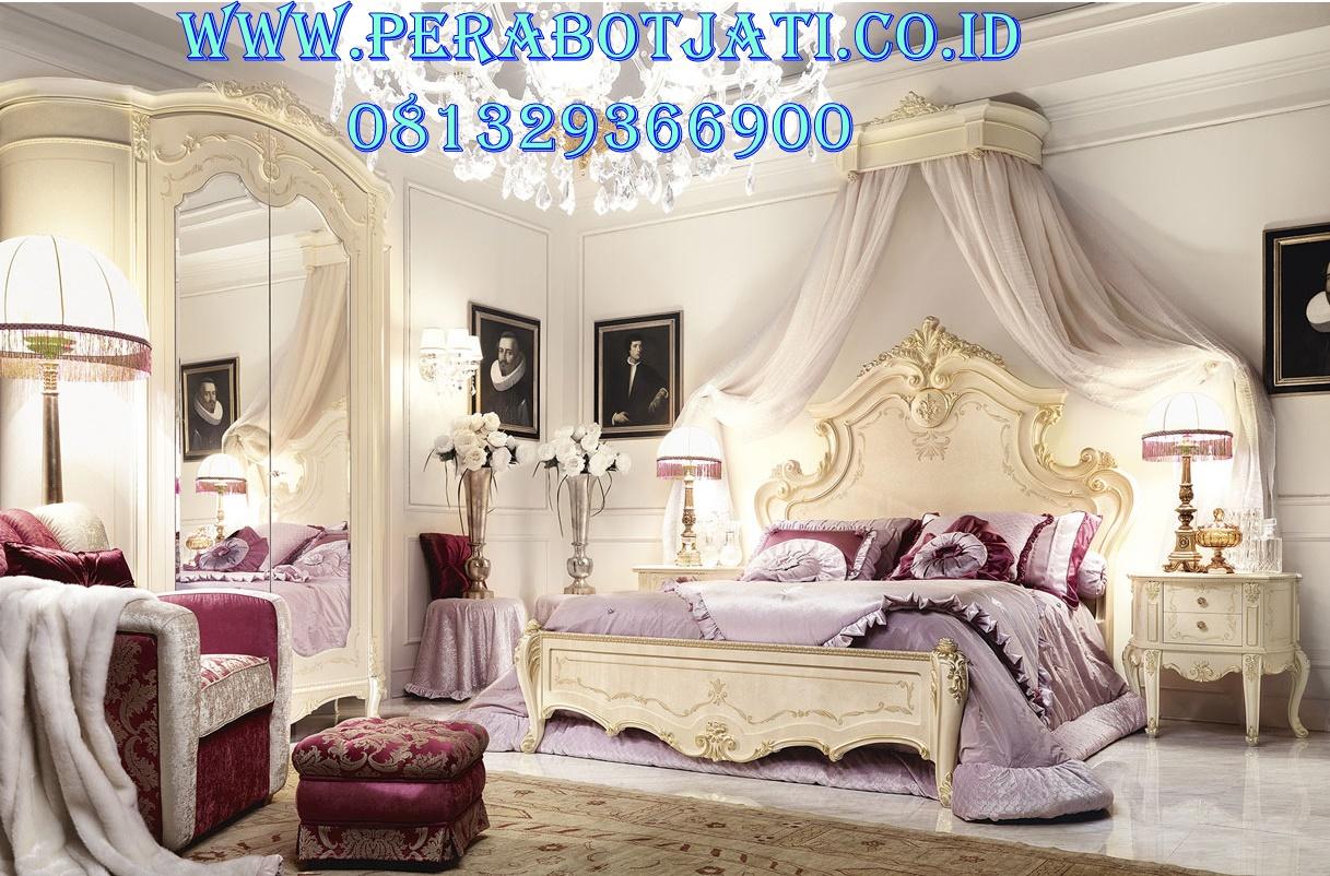 Model Kamar Tidur Klasik Modern