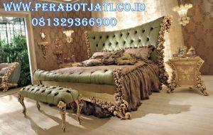 Set Tempat Tidur Eropa Ukir Luxury