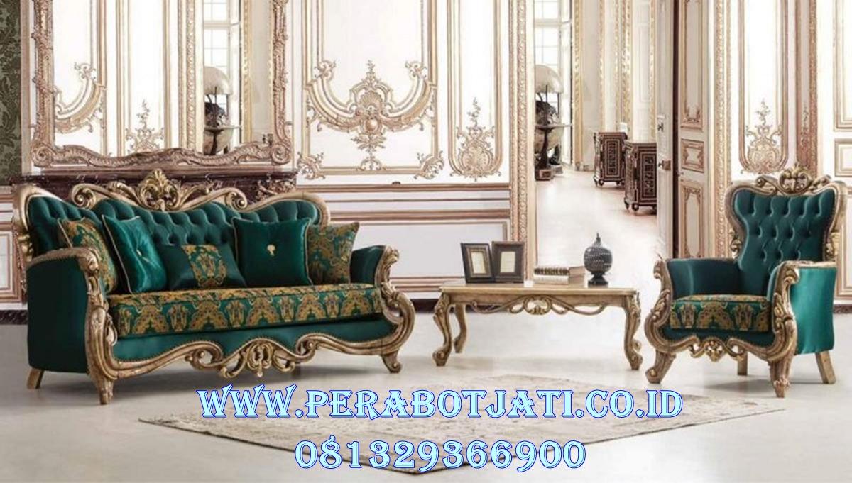 Kursi Sofa Set Mewah Neo Classic