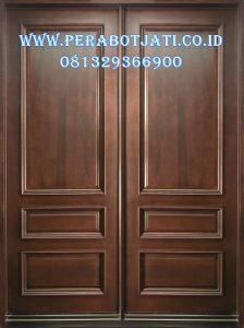 Pintu Rumah Minimalis Simple Jati