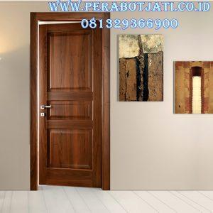 Pintu Kamar Minimalis Kayu Jati
