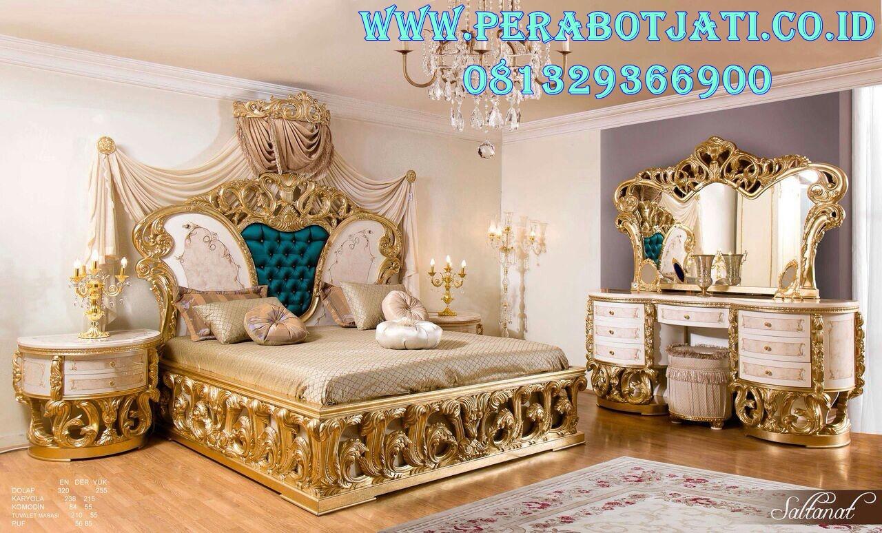 Bedroom Tempat Tidur Ukiran Royal Arianna