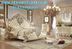 Set Tempat Tidur Jepara Ukiran Victorian Desain Tradisional