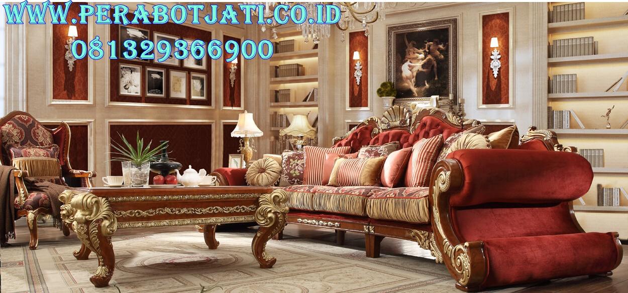 Set Sofa Tamu Victorian Mewah Pj 060