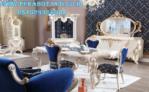 Furniture Ruang Makan Mewah Desain Perabot Jati