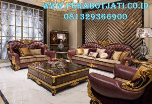 Desain Sofa Tamu Mewah Fancy