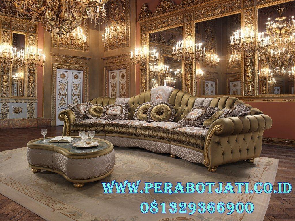 Model Sofa Mewah Santai Ruang Keluarga Victoria