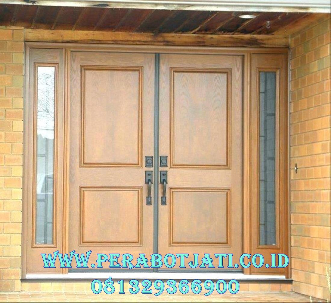 Jual Kusen Pintu Utama Jendela Sambung Minimalis
