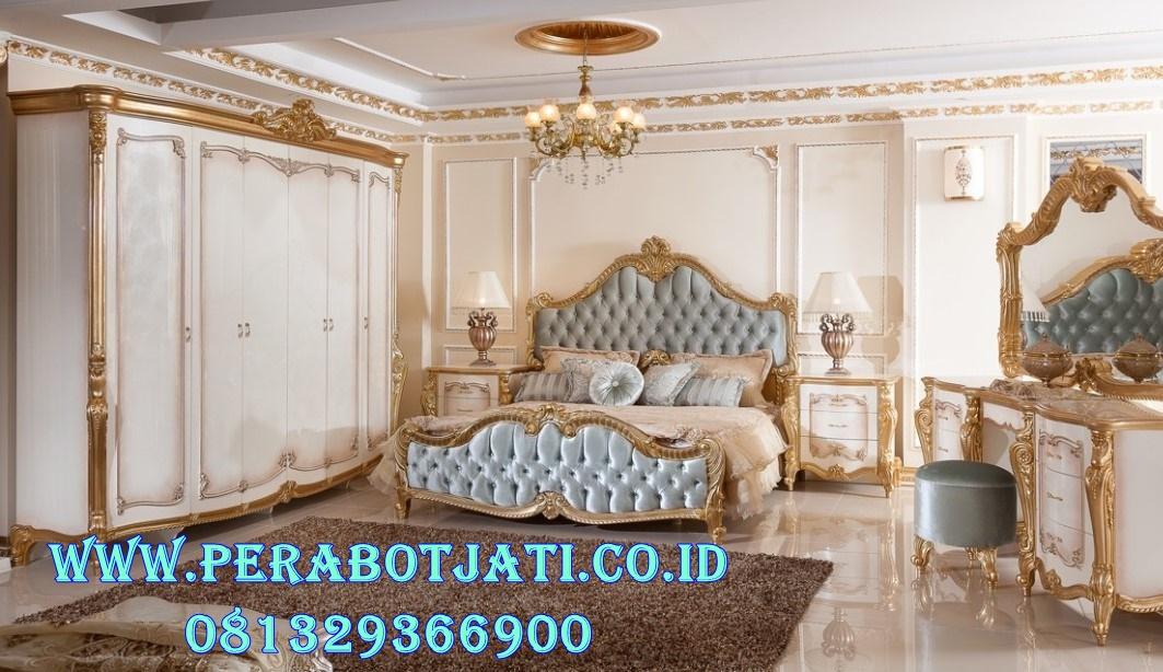 Ranjang kamar Tidur Klasik Modern Andriana