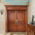 Jual Pintu Jati Kupu Tarung Klasik Jepara